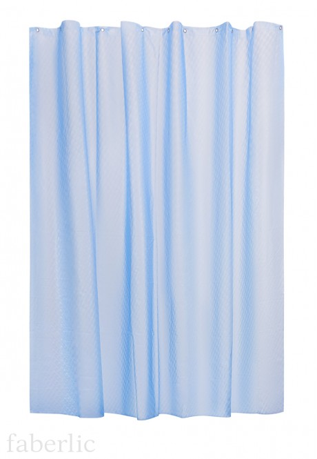 Shower Curtain blue