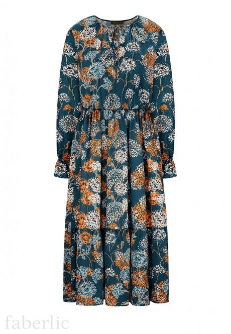 Long Dress multicolor