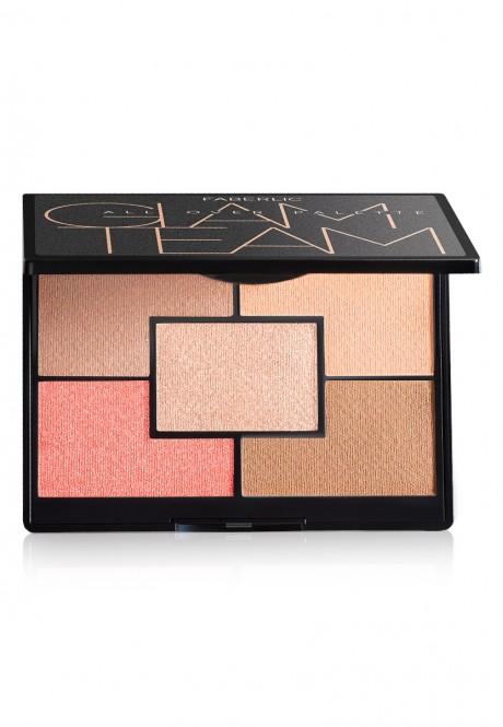 Glam Team Face Color Palette