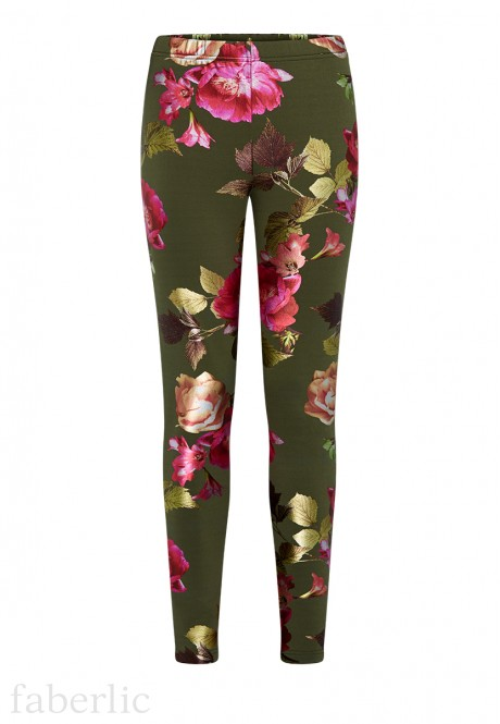 Skinny Jersey Trousers multicolor