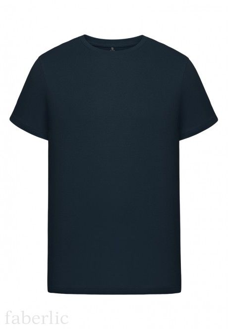 Mens Short Sleeve Tshirt dark blue
