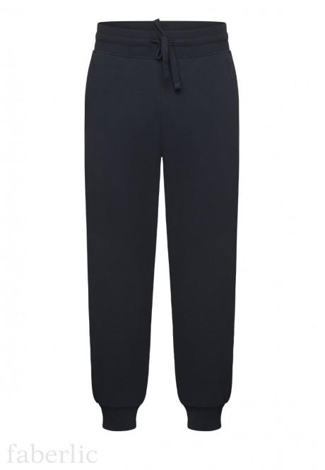 Трикотажные брюки для мужчины цвет тёмносиний
