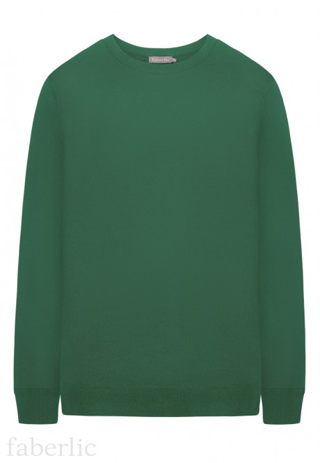 Mens Long Sleeve Jumper green