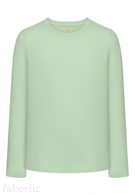 Long Sleeve Tshirt for girls mint
