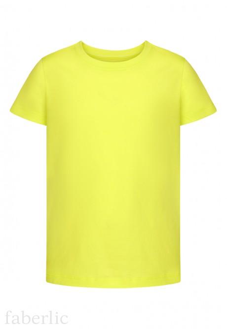 Girls Short Sleeve Tshirt lime