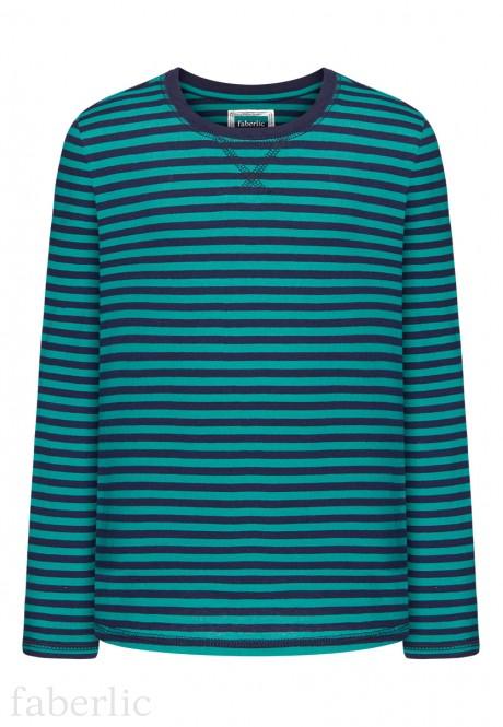 Boys Long Sleeve Tshirt turquoise