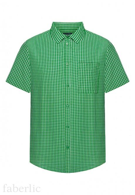 Mens Short Sleeve Shirt green