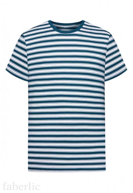 Mens Short Sleeve Tshirt dark blue