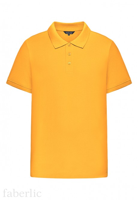 Mens Polo Shirt yellow