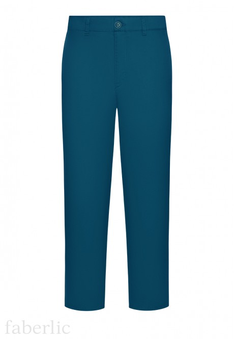Mens Trousers dark blue