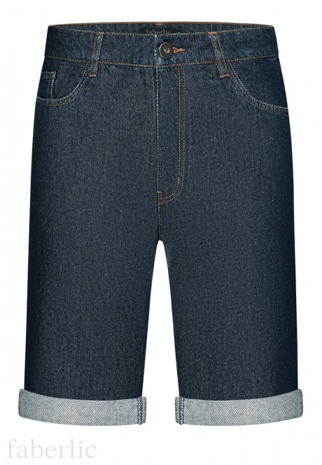 Mens Denim Shorts dark blue