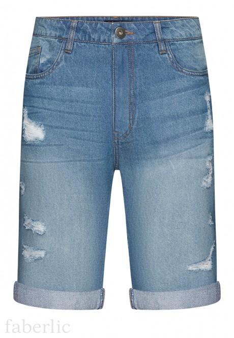 Mens Denim Shorts blue