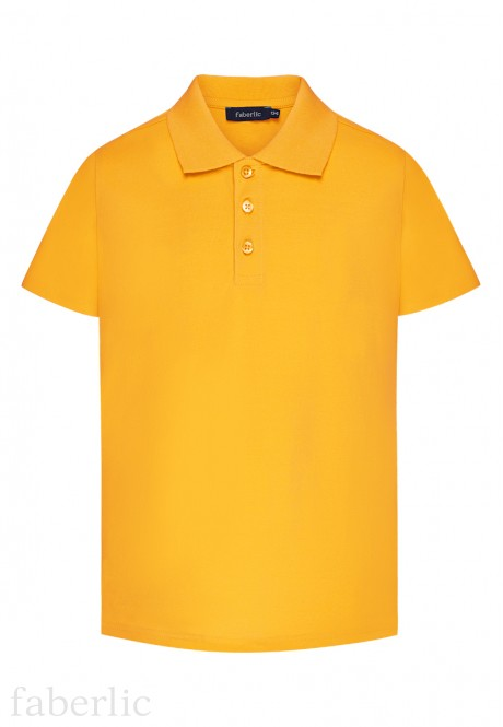 Boys Polo Shirt yellow