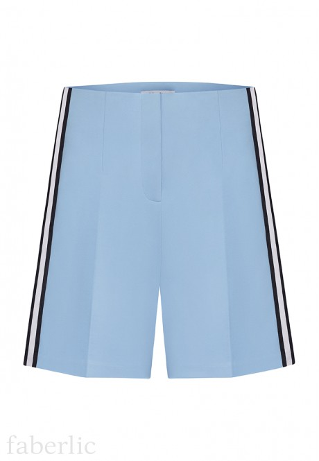 Jersey Shorts light blue