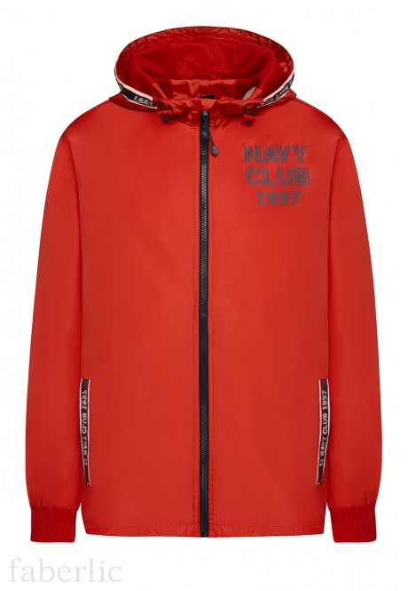 Mens Windbreaker Jacket red