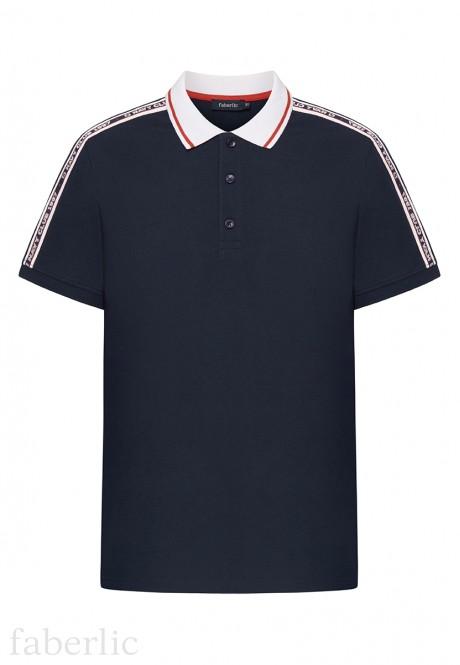 Mens Polo Shirt dark blue