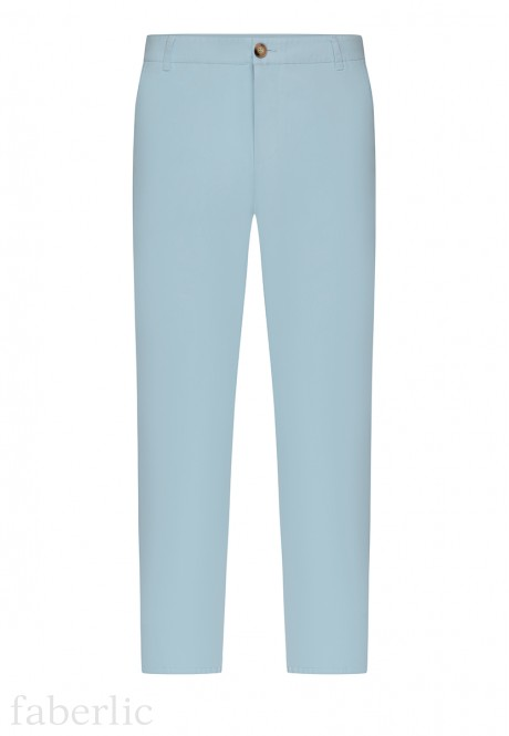 Mens Trousers light blue