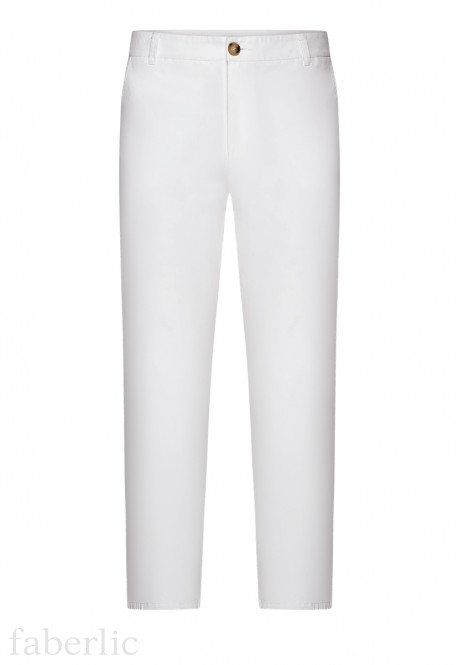 Mens Trousers white