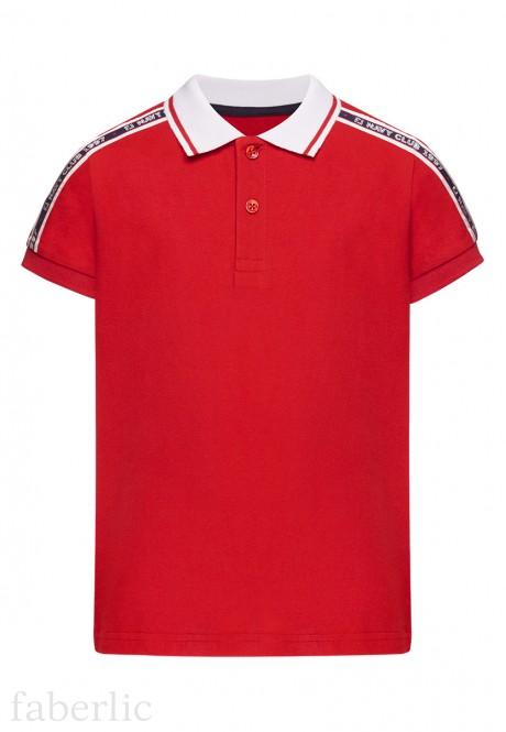 Boys Polo Shirt red