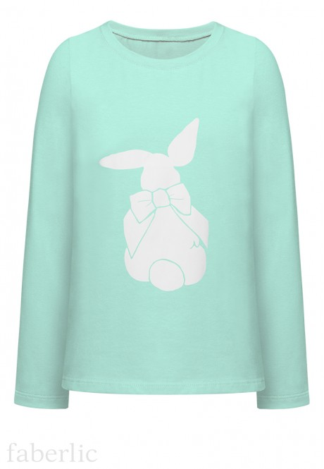 Girls Long Sleeve Top mint