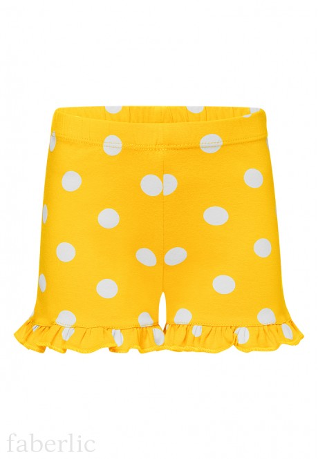Girls Shorts yellow