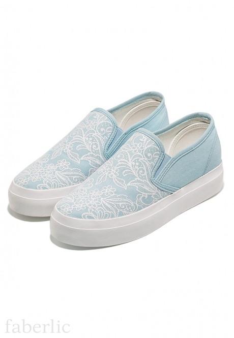 Fiore SlipOn Shoes light blue