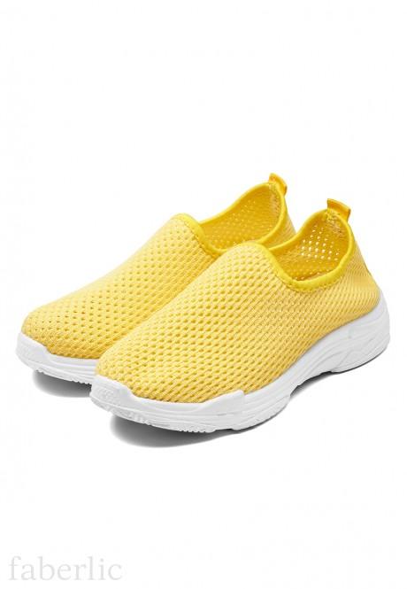 Кроссовки для девочек Элис цвет жёлтый