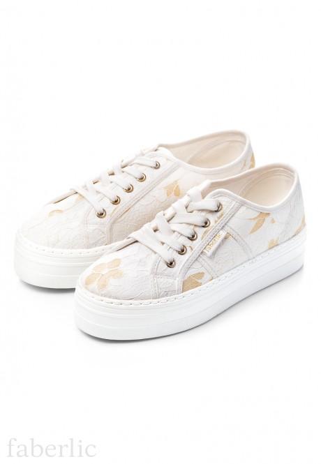 Domenica Canvas Shoes white