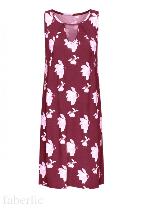 Night Dress burgundy