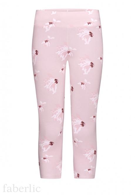 Легинсы цвет розовый