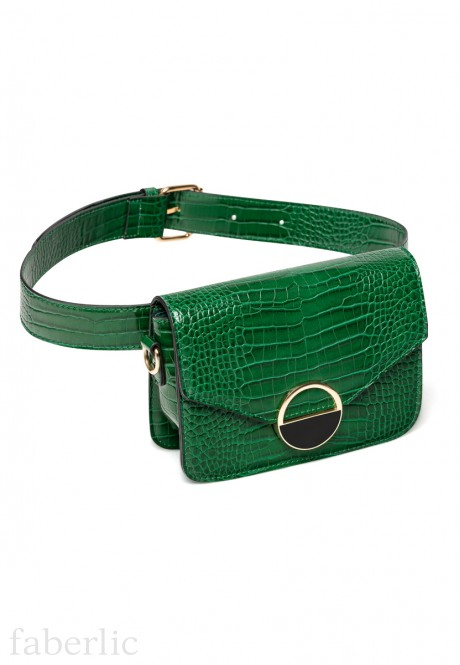 Mix Waist Purse green