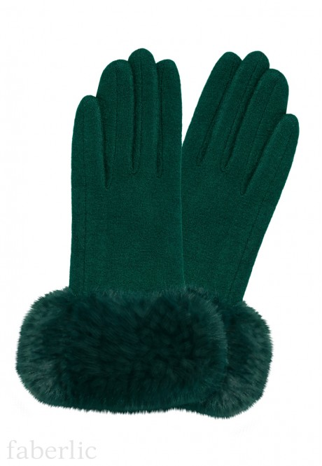Wool Gloves emerald
