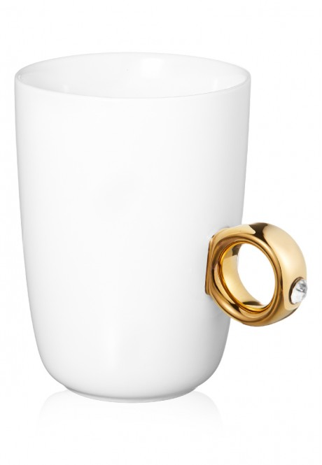 Mug with Ring in a Gift Box