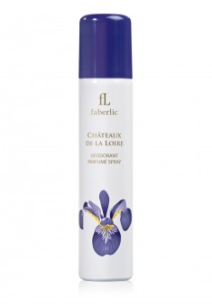 Chateaux de la Loire Perfumed Spray Deodorant for Her