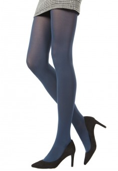 Colored tights blue 60 DEN