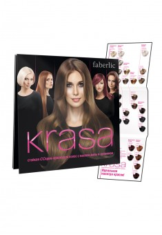 KRASA LongLasting Hair CreamColor Palette of Colours 36 Shades