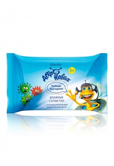 Astronautic Antibacterial Wet Wipes for Kids
