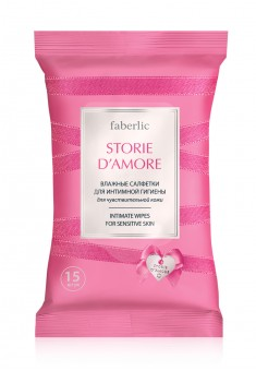 STORIE DAMORE INTIMATE CARE WET WIPES