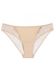 Laura Midi Briefs beige