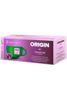Origin black tea with thyme