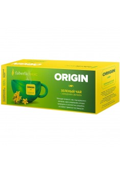 Origin Green Tea Blend with calendula and St Johns wort