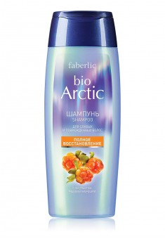 Bio Arctic Shampoo for Weak and Damaged Hair with Honey Cloudberry Extract