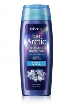 Bio Arctic Intensive AntiDandruff Shampoo for All Types of Hair with White Moss Extract