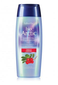 Bio Arctic 2in1 Shampoo Conditioner for Dull Weak Hair with Arctic Bearberry Extract
