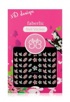3D Design Nail Stickers  Flowers