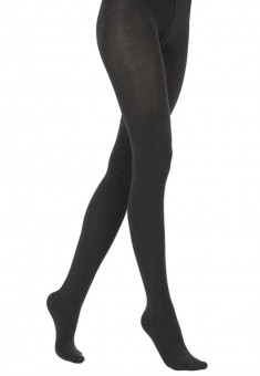 Elastic Velour tights black melange 120 den