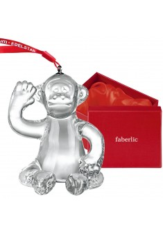 Сувенир Стеклянная обезьянка