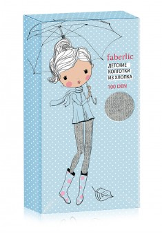 Kids Tights SD104 100 den grey melange