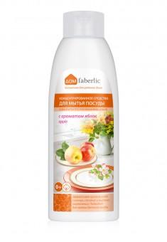 Концентрированное средство для мытья посуды с биоэнзимами с ароматом яблок серии дом faberlic