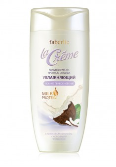 Gentle Touch moisturizing shower creamgel